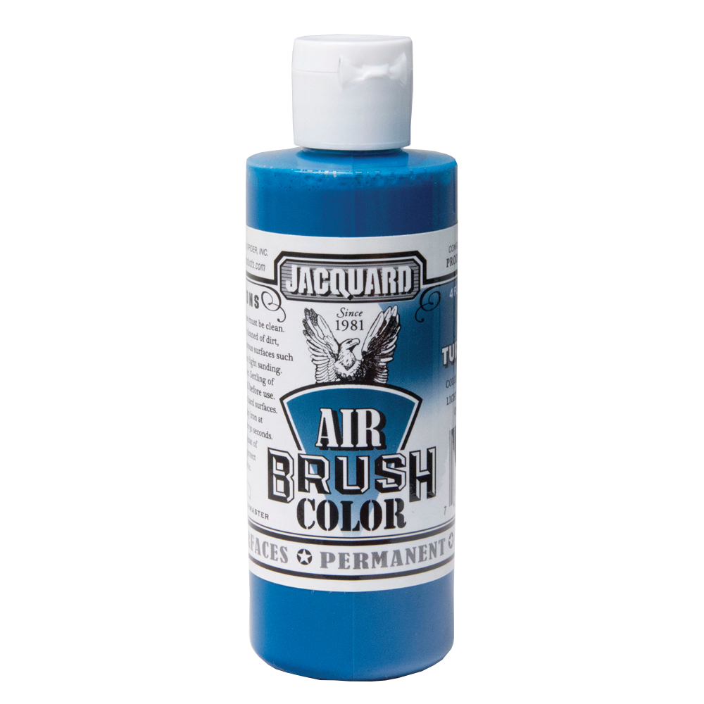 Jacquard Airbrush Color 4Oz Bright Turquoise