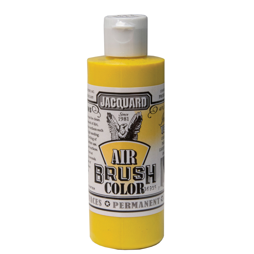 Jacquard Airbrush Color 4Oz Iridescent Yellow