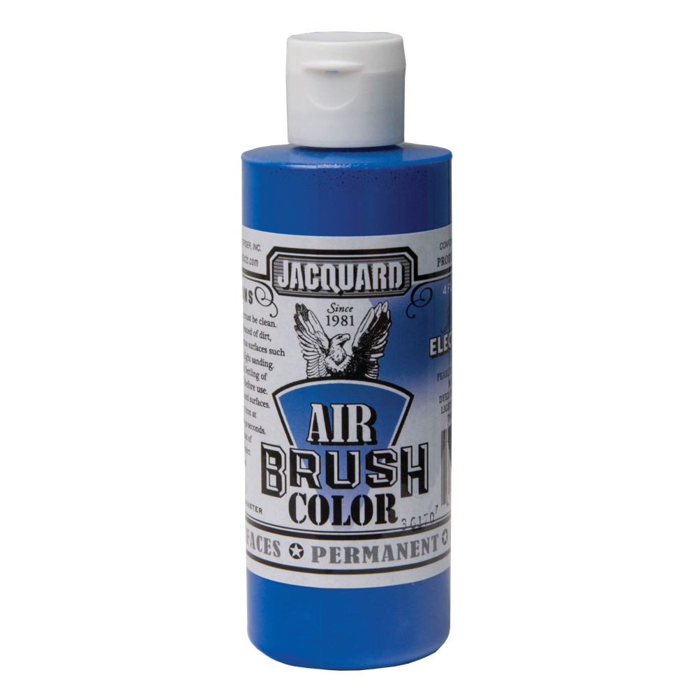 Jacquard Airbrush Color 4Oz Iridescent Blue