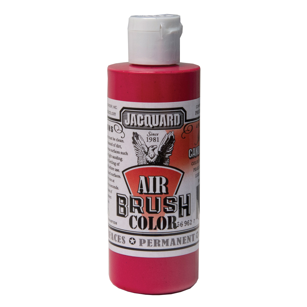 Jacquard Airbrush Color 4Oz Irid Candy Apple
