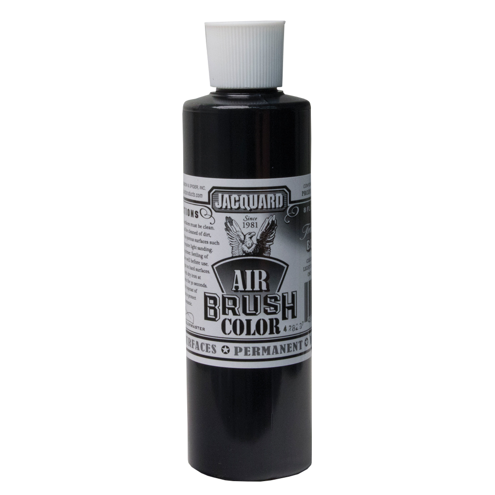 Jacquard Airbrush Color 8Oz Transparent Black