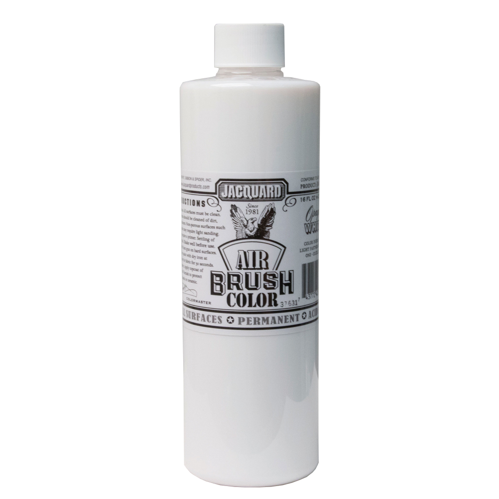 Jacquard Airbrush Color 16Oz Opaque White