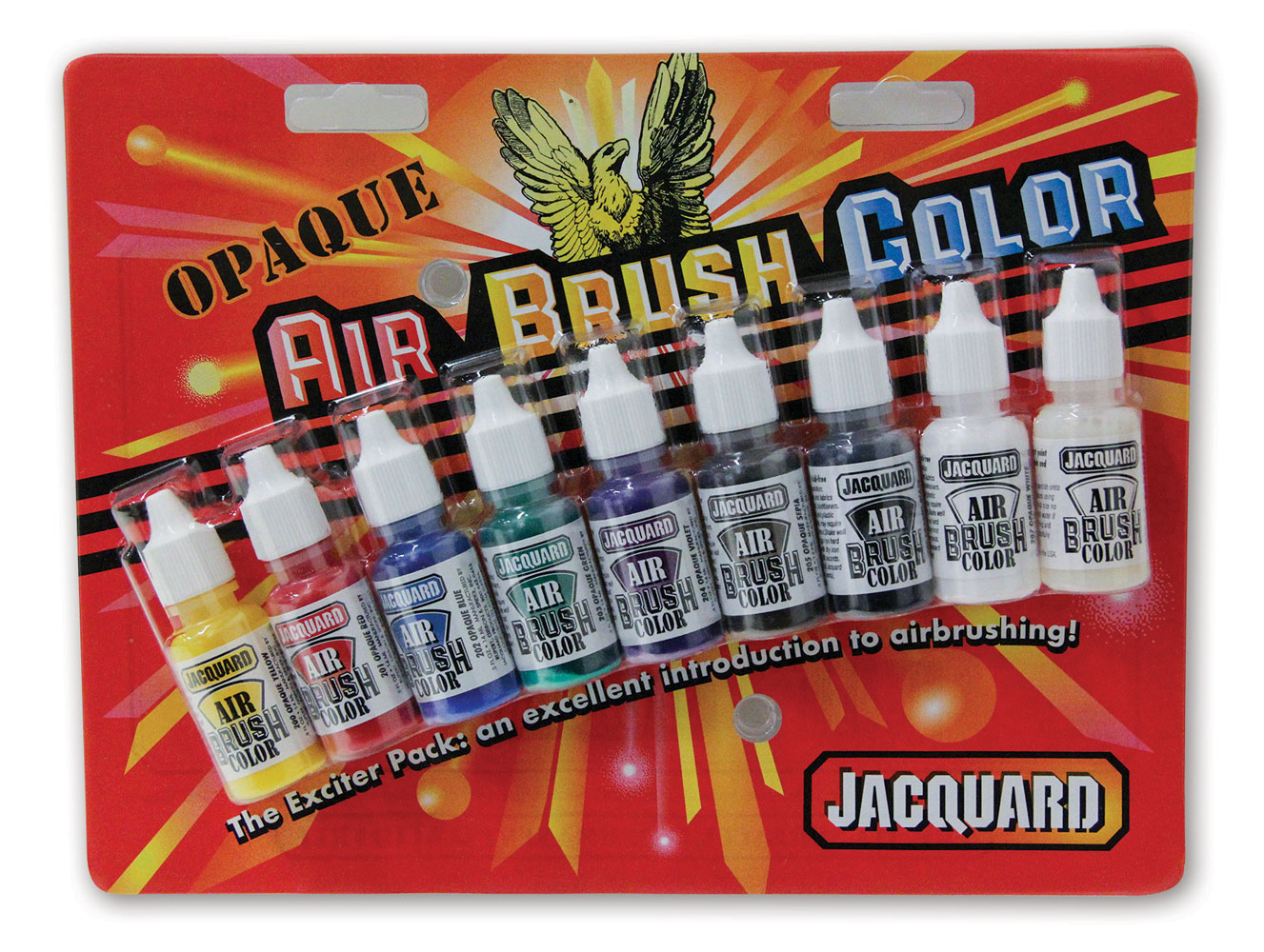 Jacquard Opaque Airbrush Exciter Pack