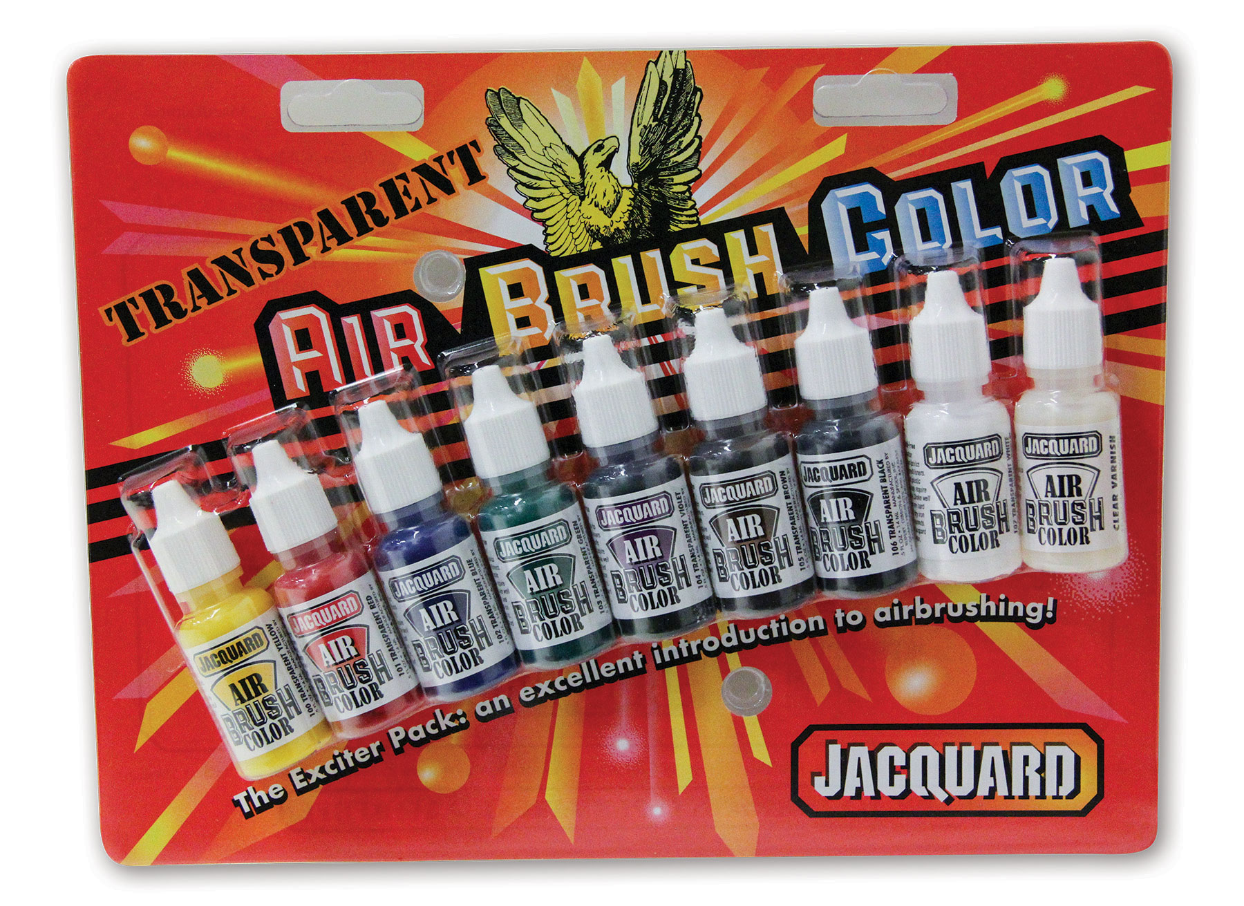 Jacquard Transparent Airbrush Exciter Pack