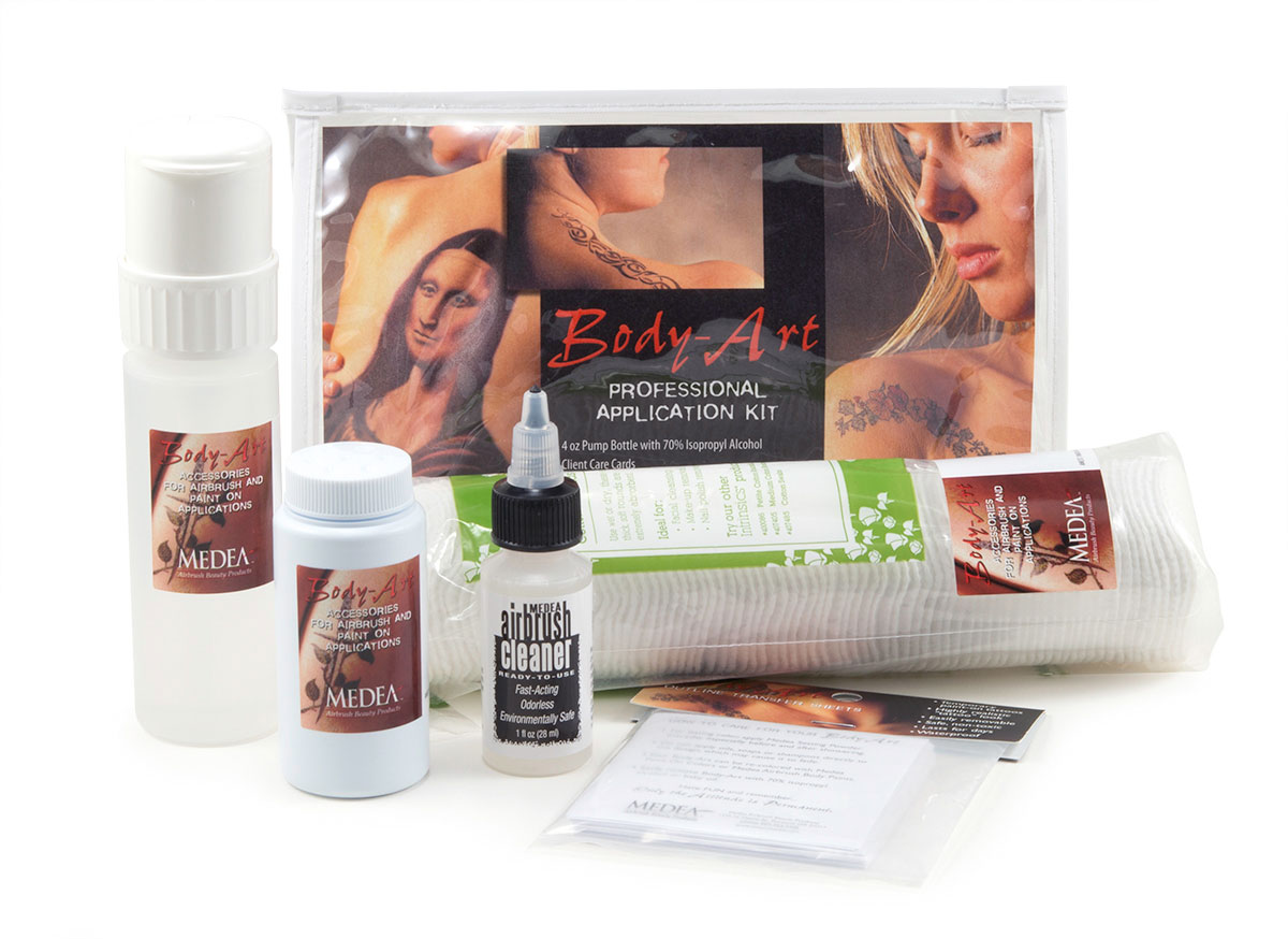 Medea Professional Body Art Application Kit
