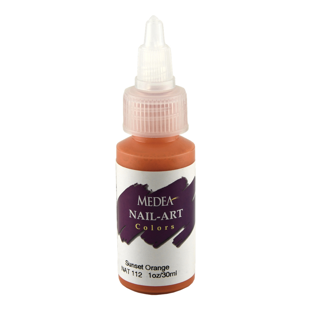 Medea Nail Color: Sunset Orange 1 Oz