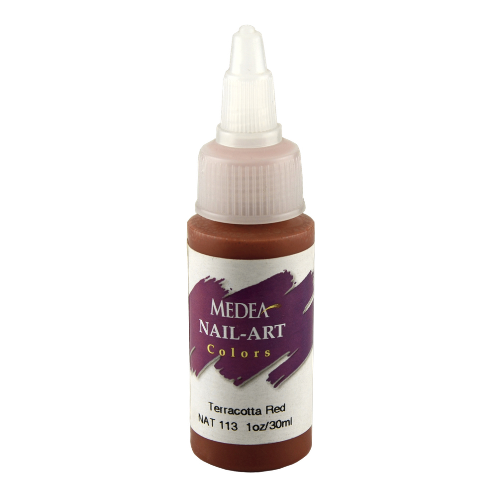 Medea Nail Color: Terracotta Red 1 Oz