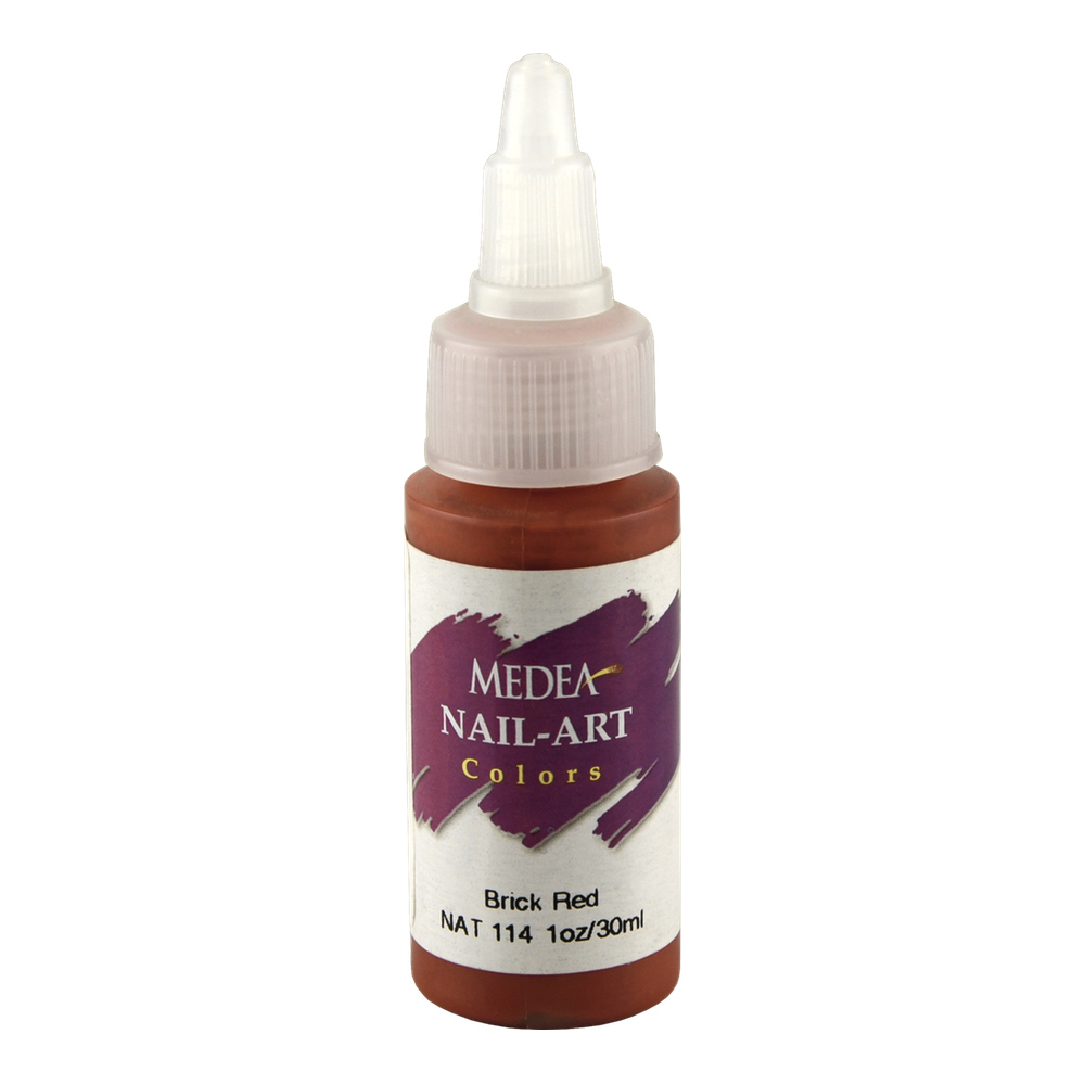Medea Nail Color: Brick Red 1 Oz