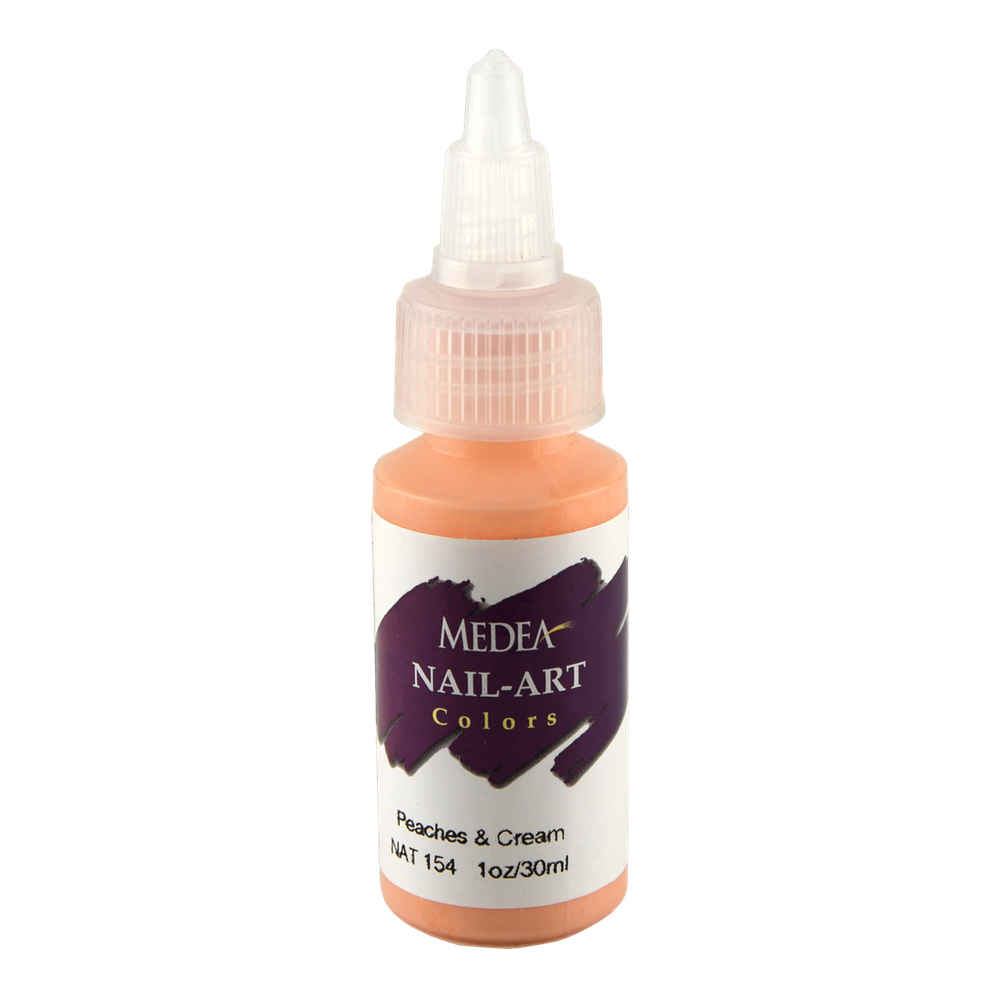 Medea Nail Color: Peaches And Cream 1 Oz