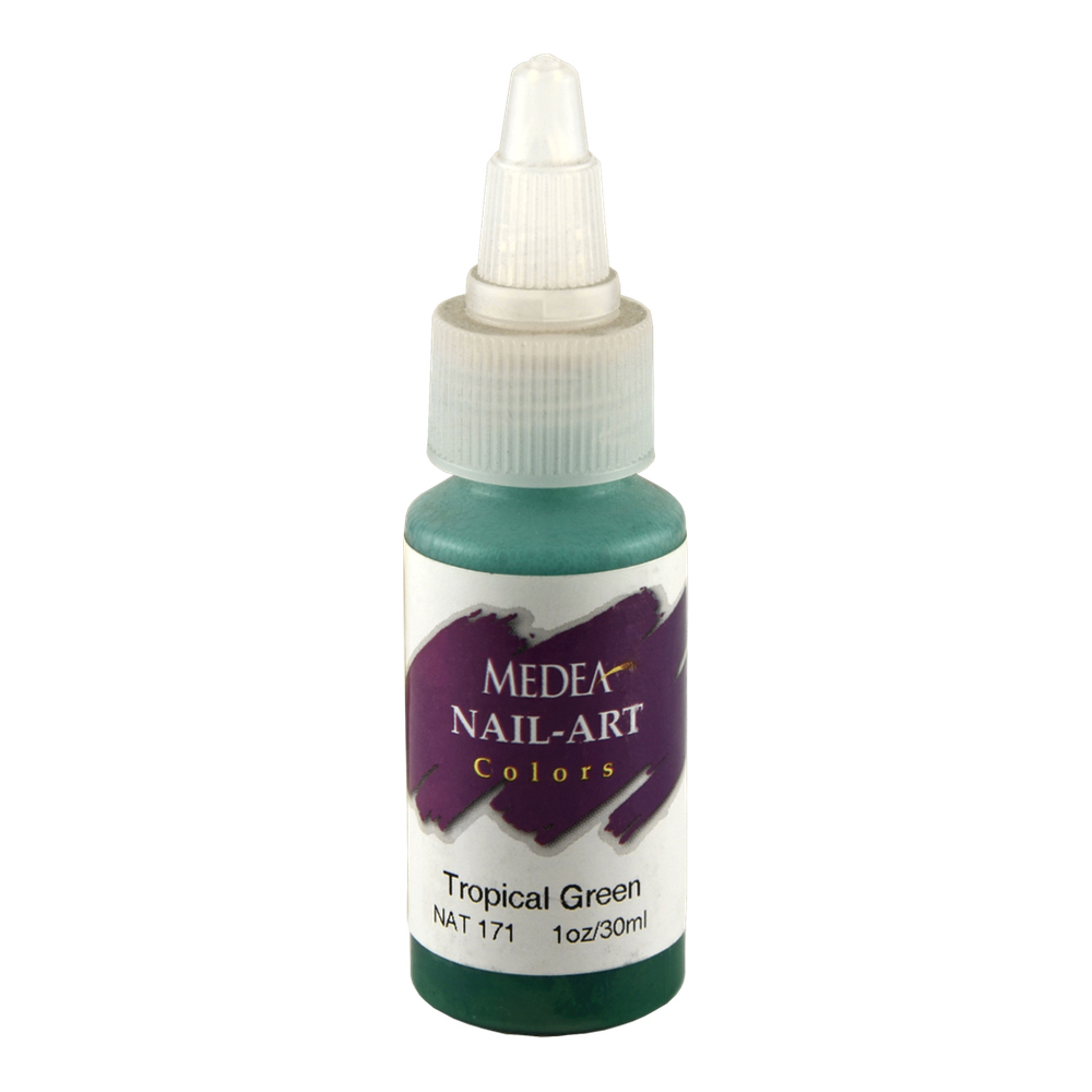 Medea Nail Color: Tropical Green 1Oz