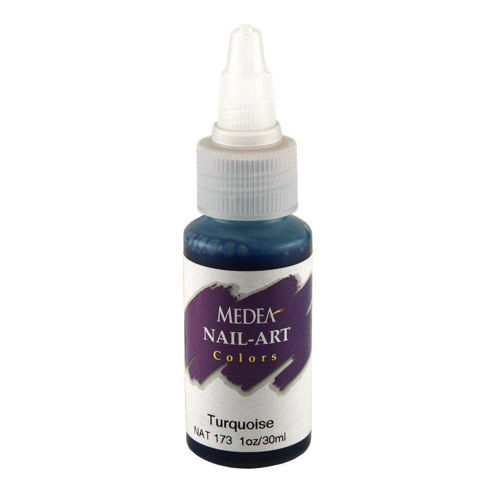 Medea Nail Color: Turquoise 1 Oz