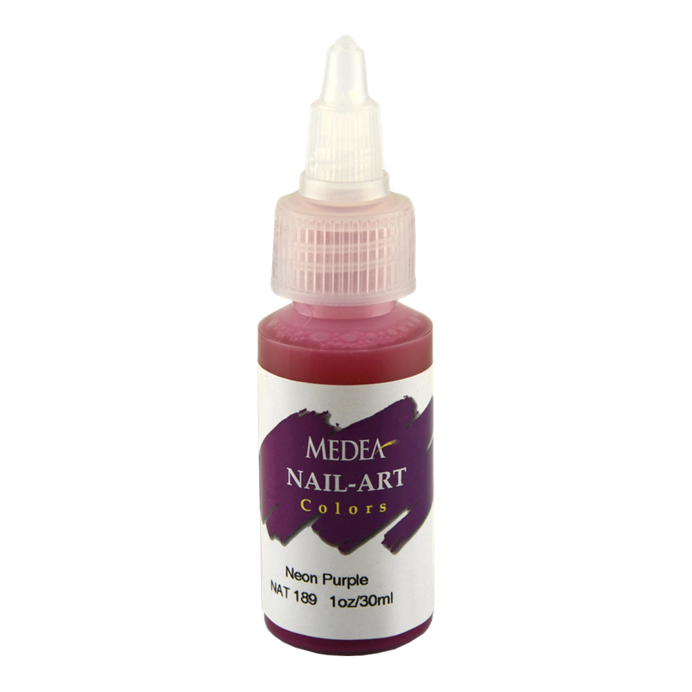 Medea Nail Color: Neon Purple 1 Oz
