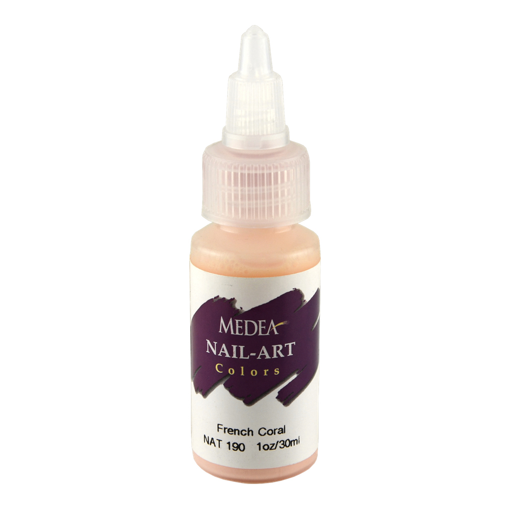 Medea Nail Color: French Coral 1 Oz