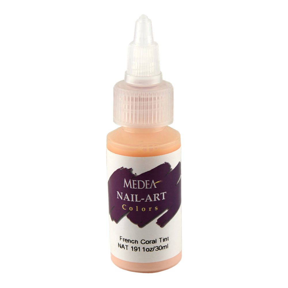 Medea Nail Color: French Coral Tint 1 Oz