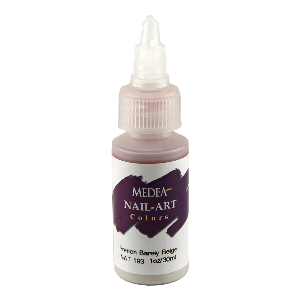 Medea Nail Color: French Barely Beige 1 Oz
