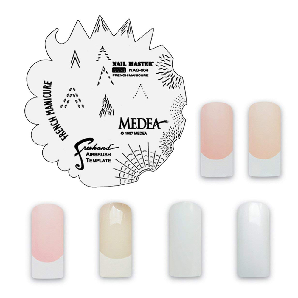 Medea Nail Color French Manicure Set