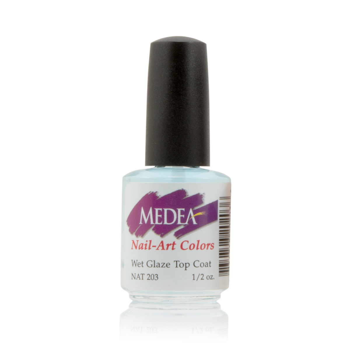 Medea Nail Wet Glaze Top Coat 1/2 Oz