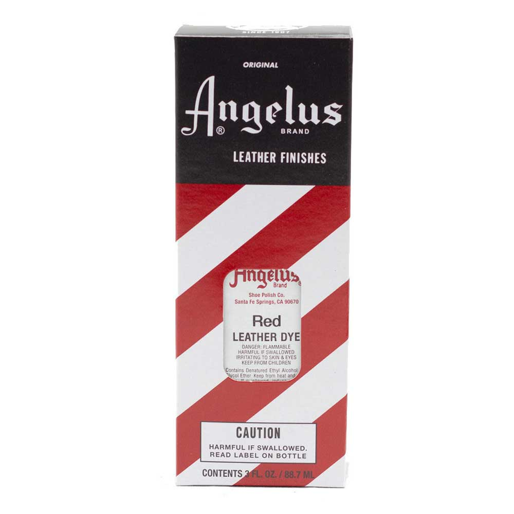Angelus Leather Dye Red
