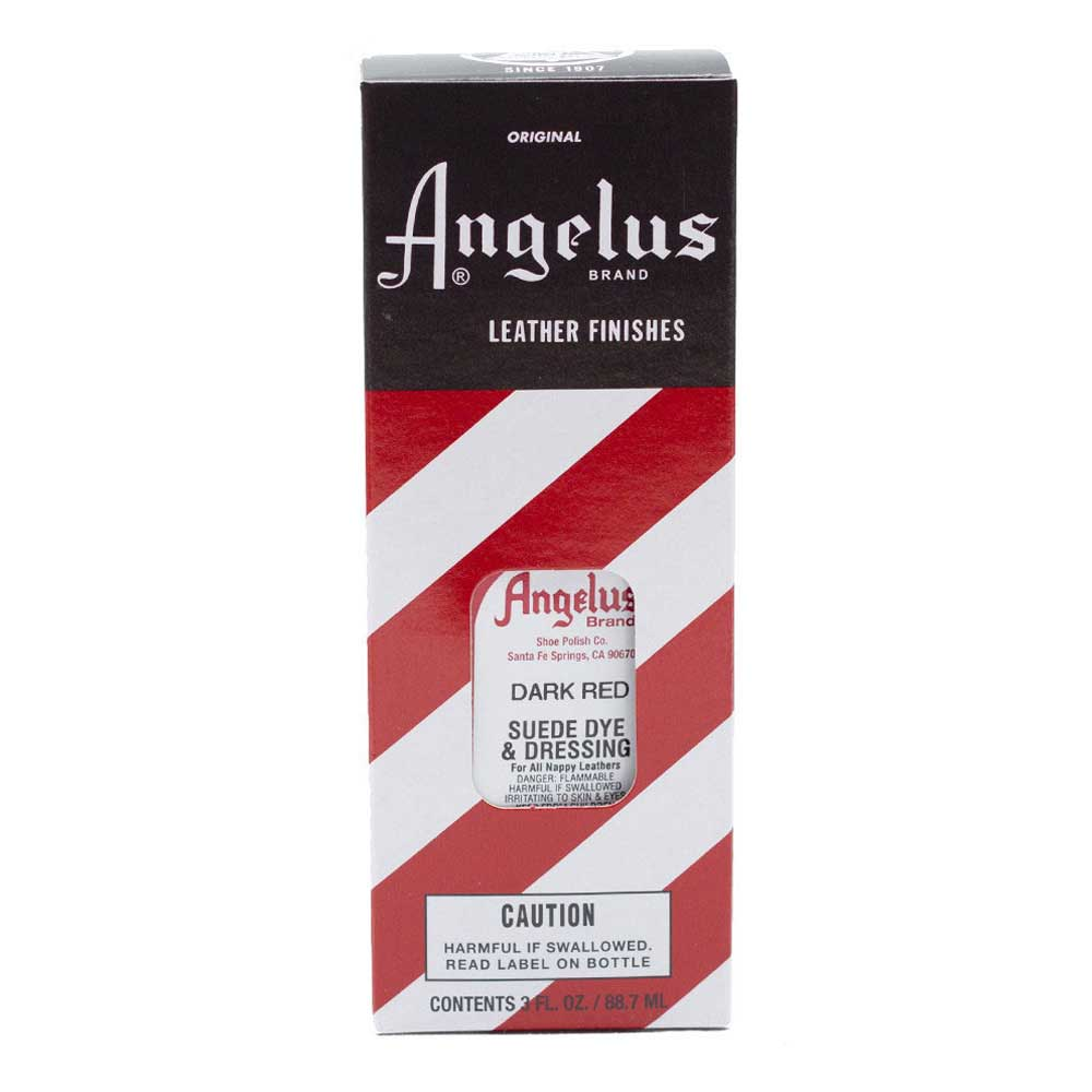 Angelus Suede Dye Dark Red