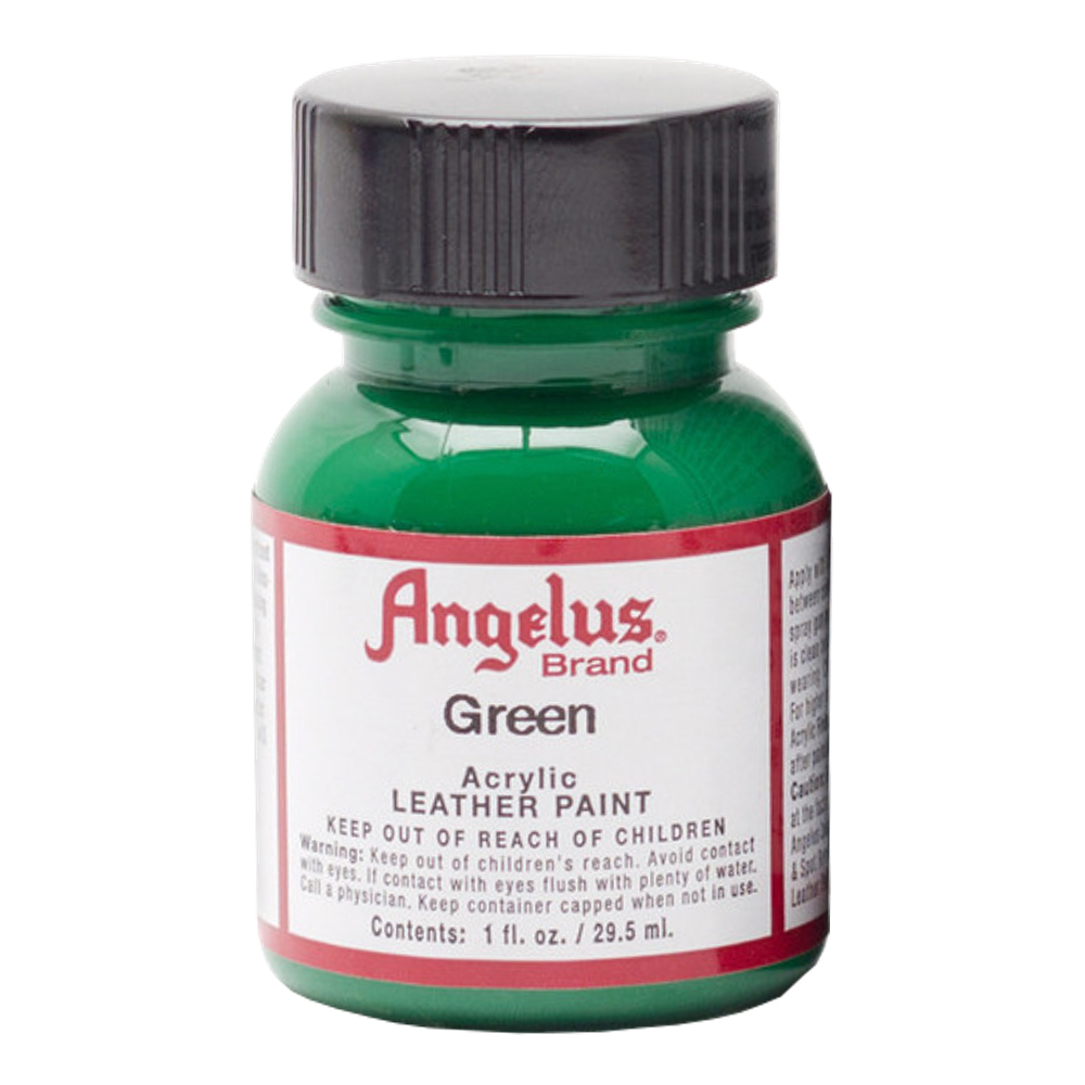 Angelus Leather Paint 1 oz Green