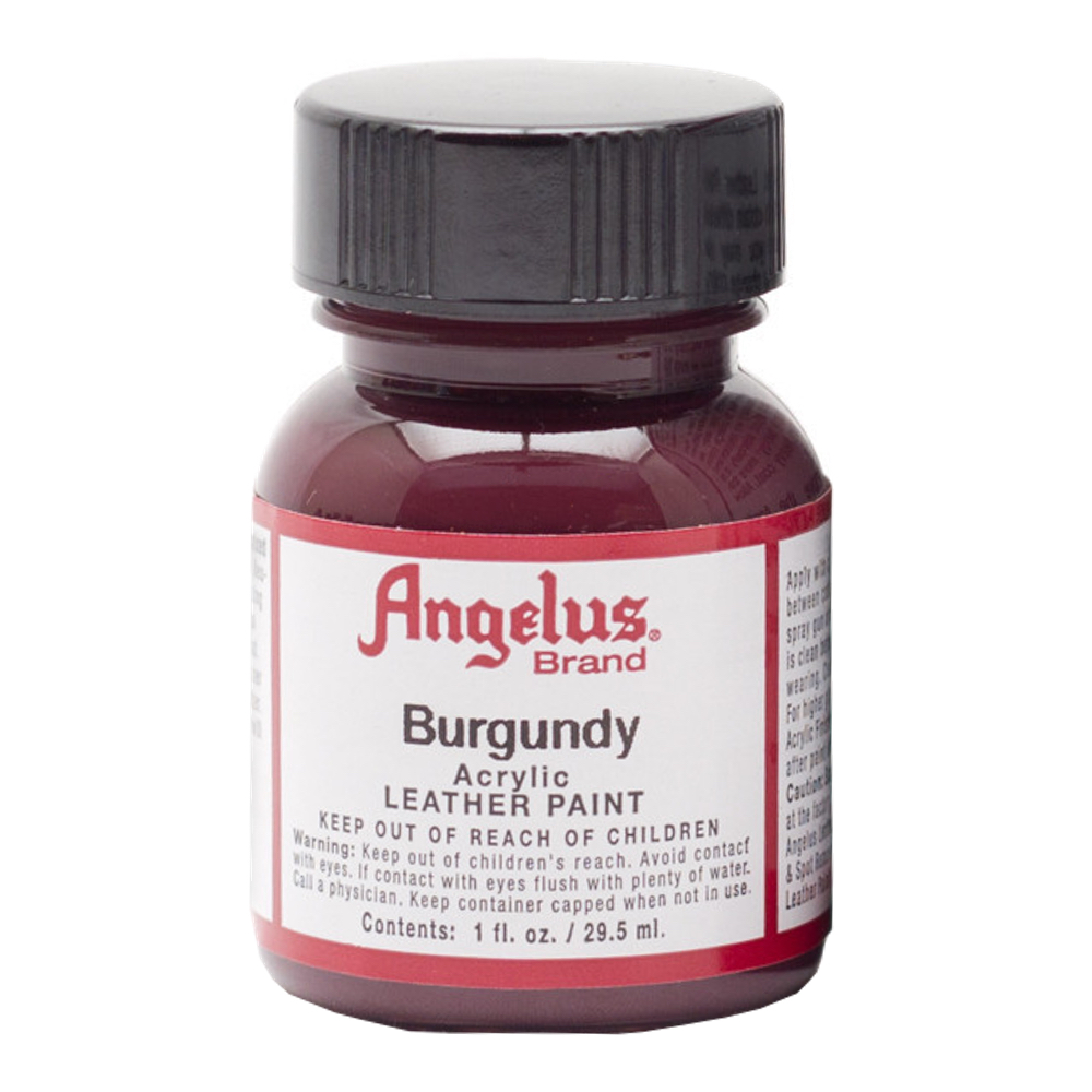 Angelus Leather Paint 1 Oz Burgundy