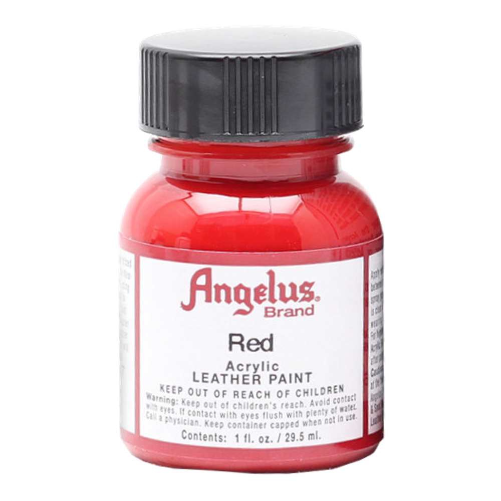 Angelus Leather Paint 1 oz Red