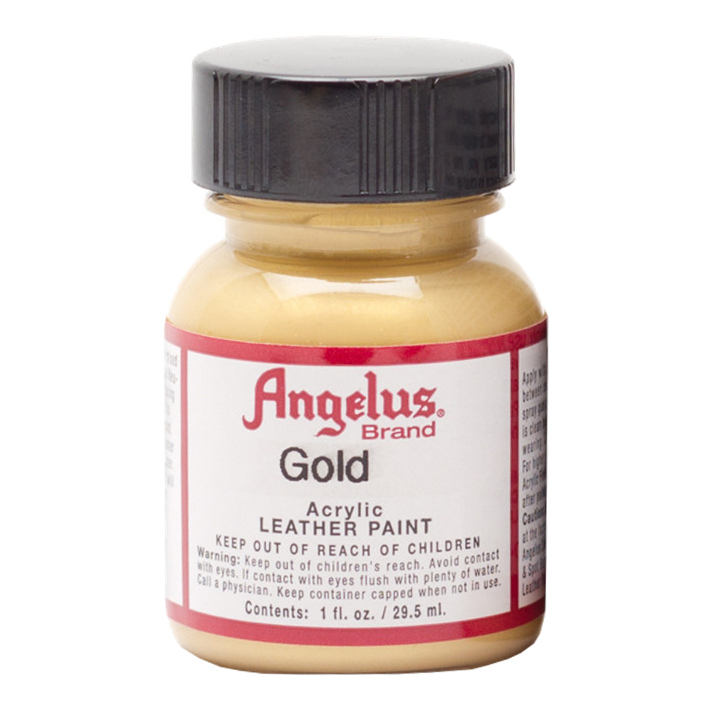 Angelus Leather Paint 1 Oz Gold