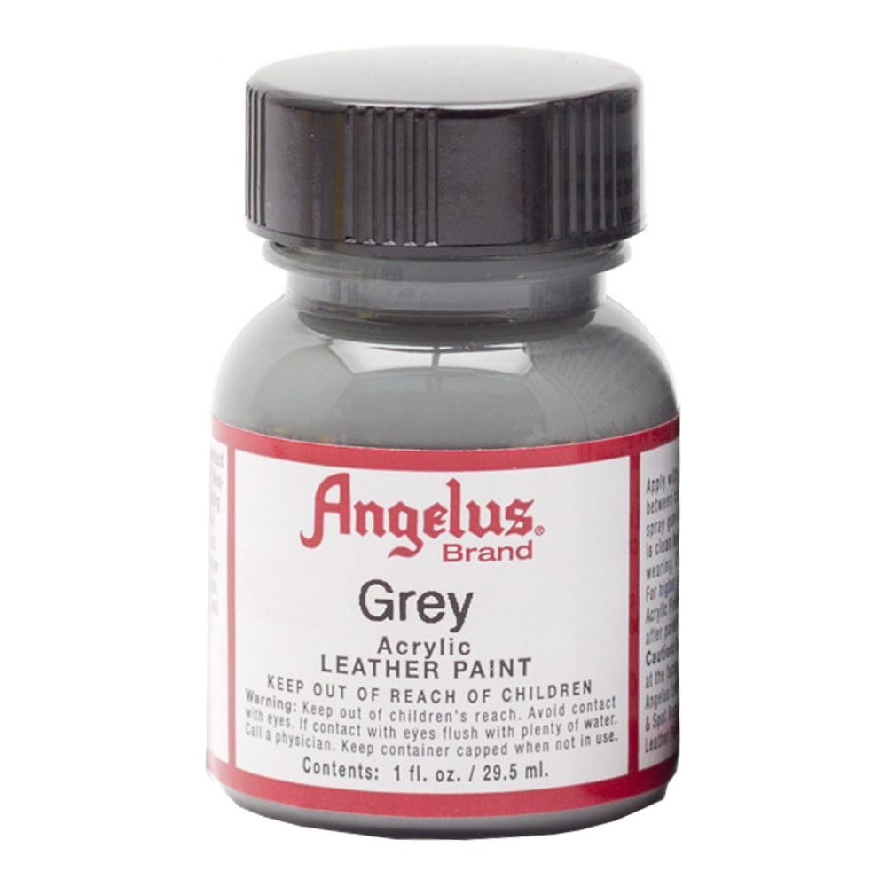 Angelus Leather Paint 1 Oz Grey
