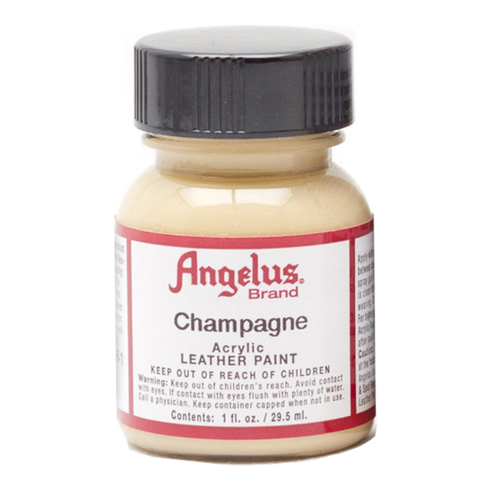 Angelus Leather Paint 1 oz Champagne