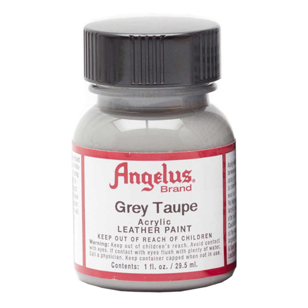 Angelus Leather Paint 1 Oz Grey Taupe