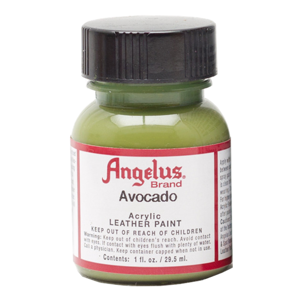Angelus Leather Paint 1 Oz Avocado