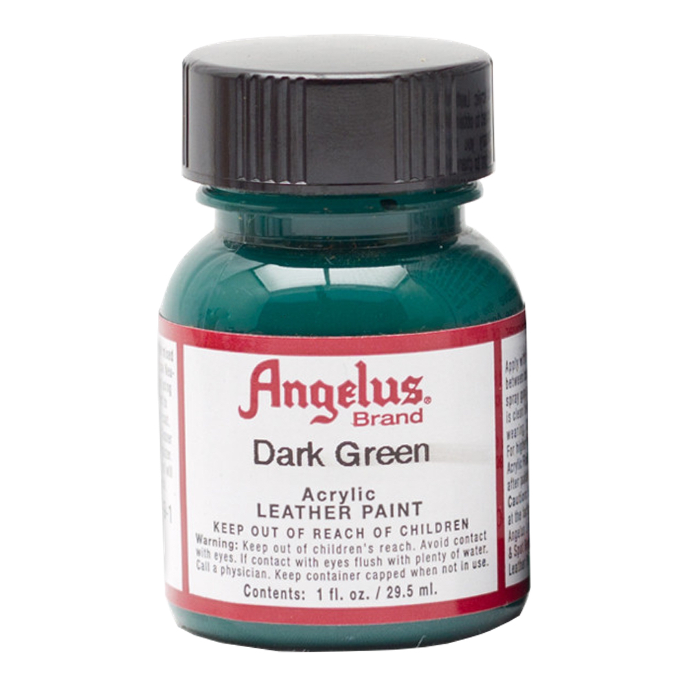 Angelus Leather Paint 1 Oz Dark Green
