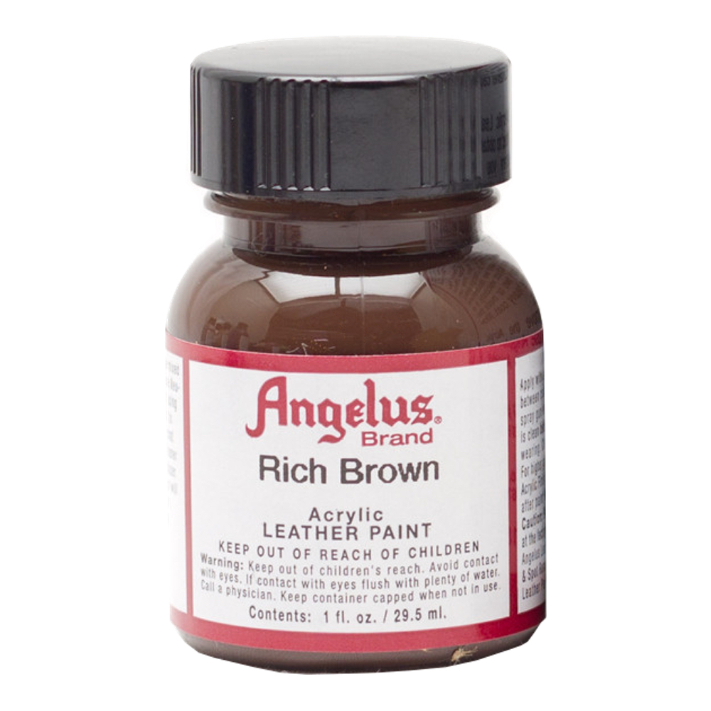 Angelus Leather Paint 1 Oz Rich Brown