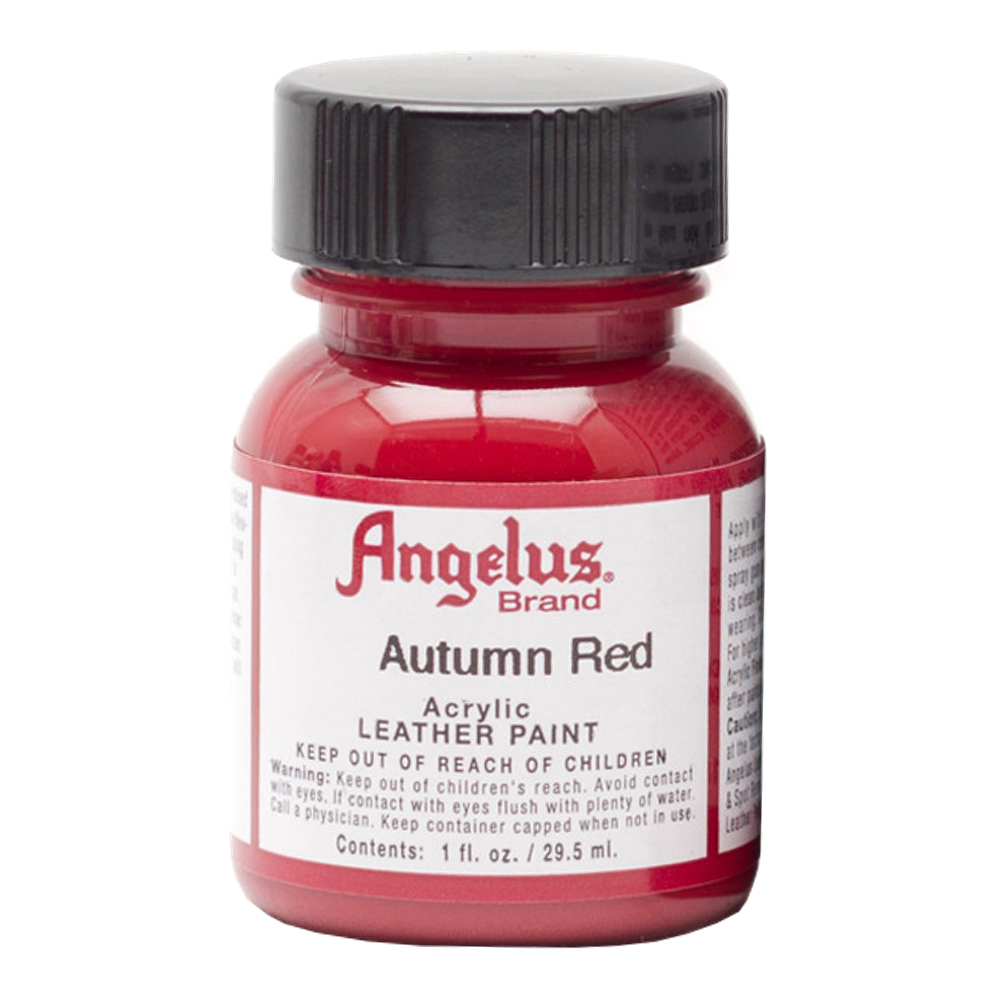 Angelus Leather Paint 1 Oz Autumn Red