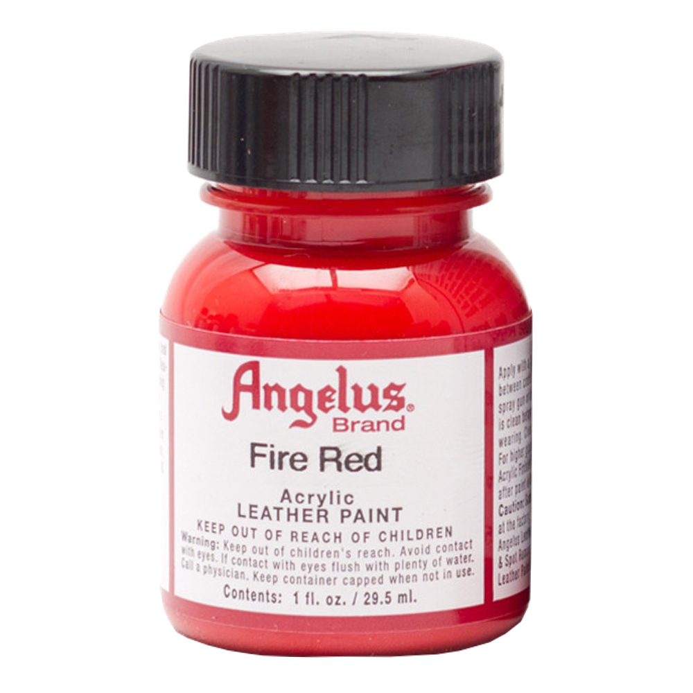 Angelus Leather Paint 1 Oz Fire Red