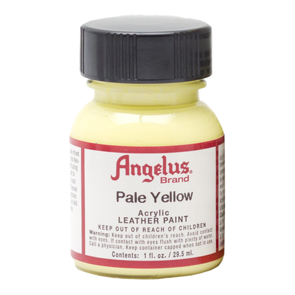 Angelus Leather Paint 1 Oz Pale Yellow