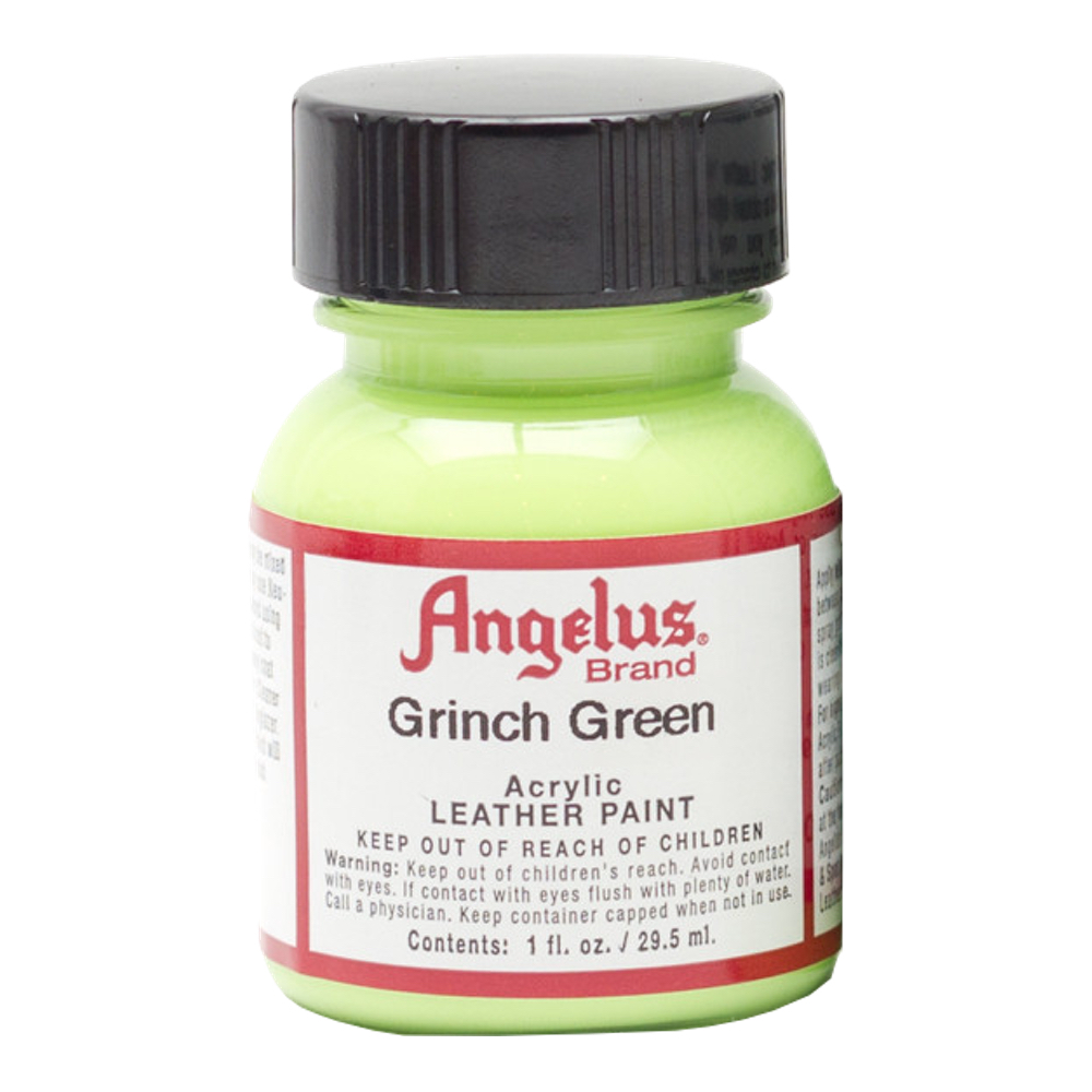 Angelus Leather Paint 1 Oz Grinch Green
