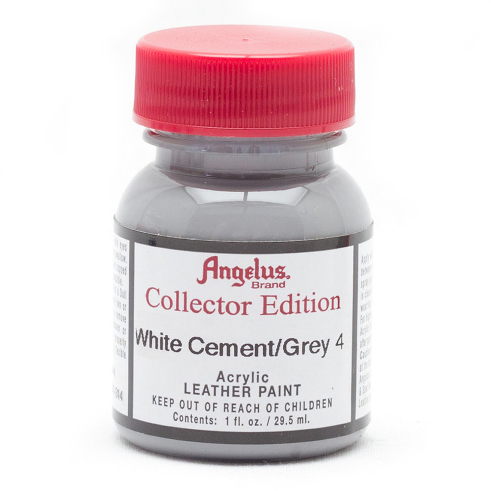 Angelus Collector Leather Paint 1 oz W Cement