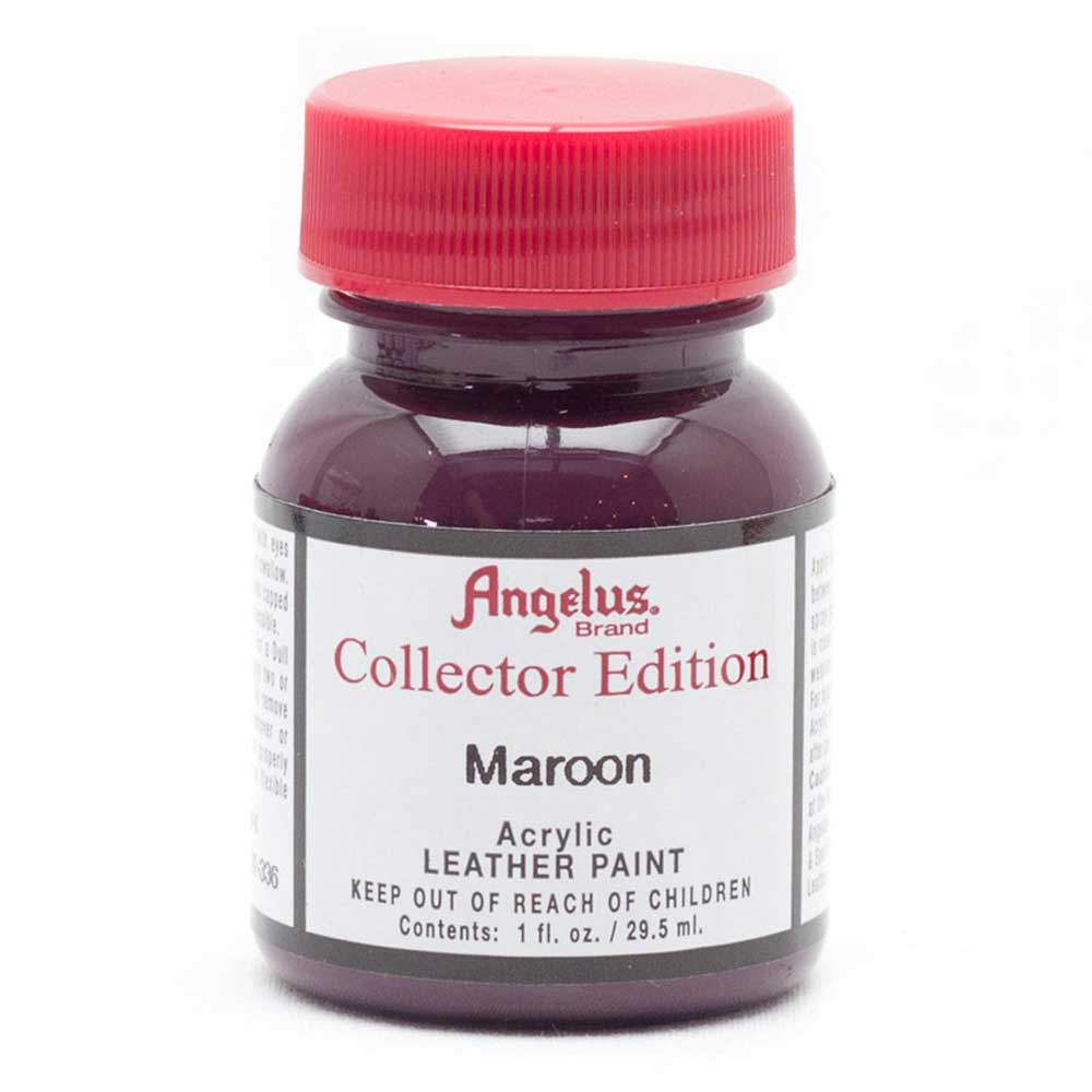 Angelus Collector Leather Paint 1 oz Maroon
