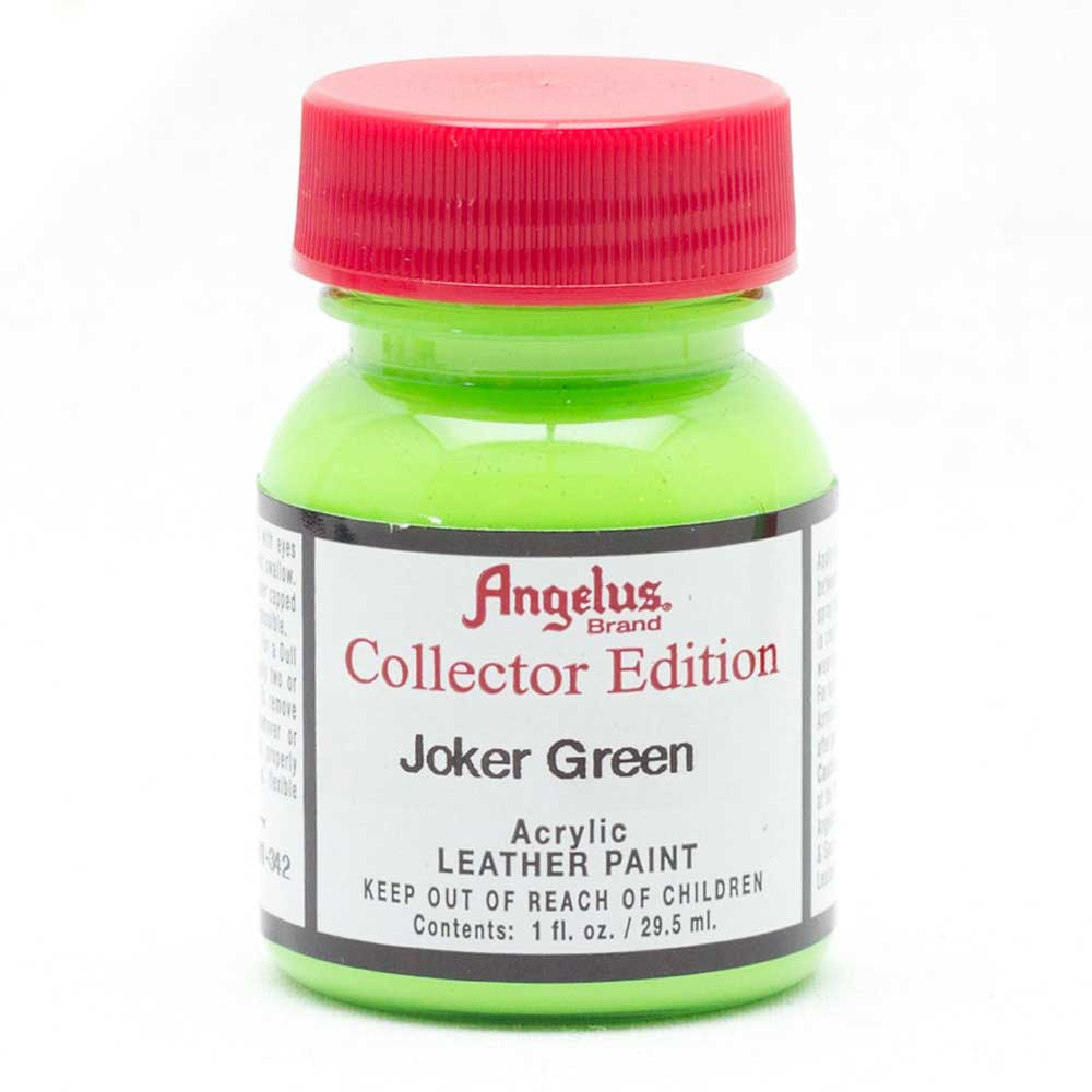 Angelus Collector Leather Paint 1 Oz Jk Green