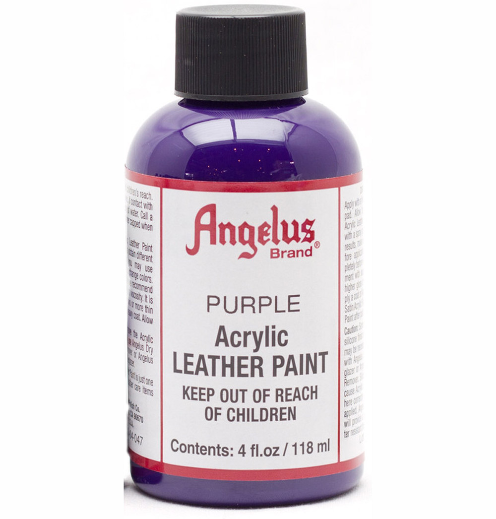 Angelus Leather Paint 4 Oz Purple