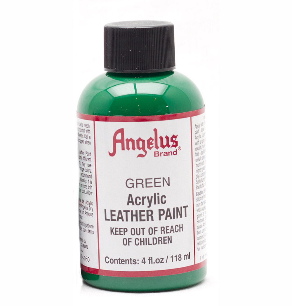 Angelus Leather Paint 4 Oz Green