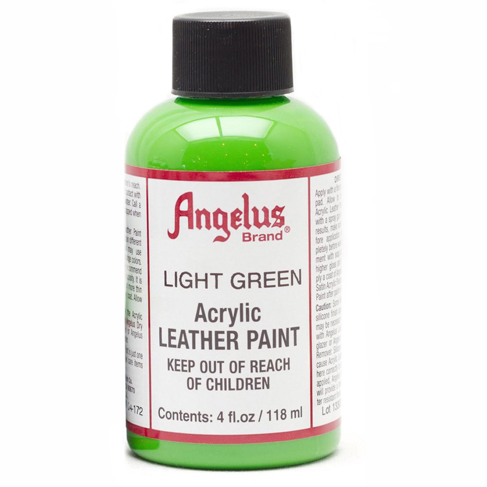 Angelus Leather Paint 4 Oz Light Green