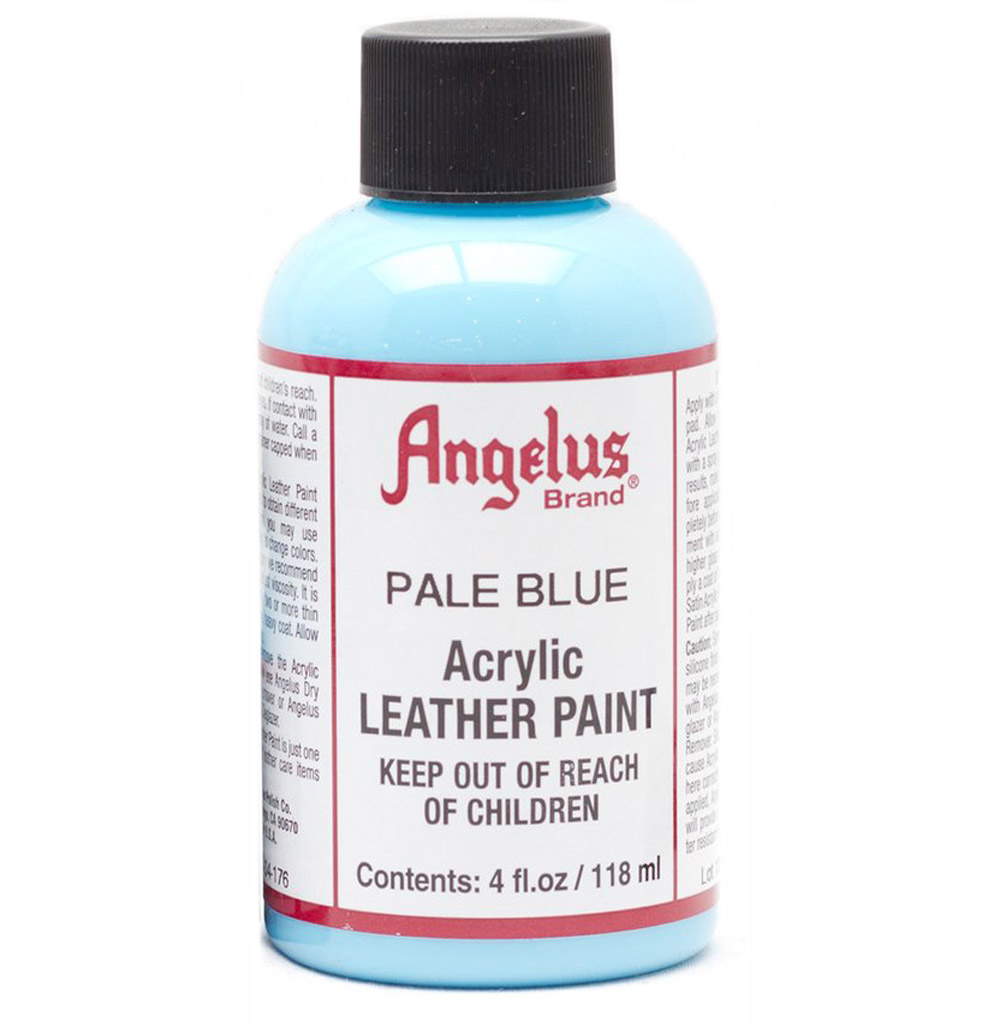 Angelus Leather Paint 4 Oz Pale Blue