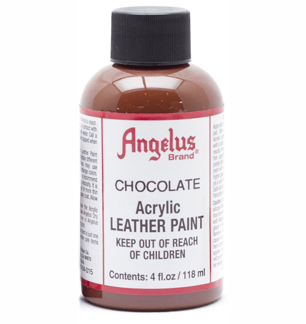 Angelus Leather Paint 4 oz Chocolate