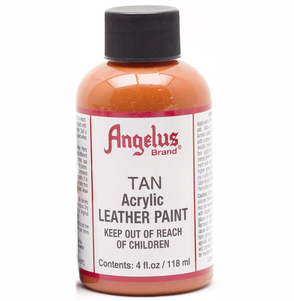 Angelus Leather Paint 4 oz Camel Tan