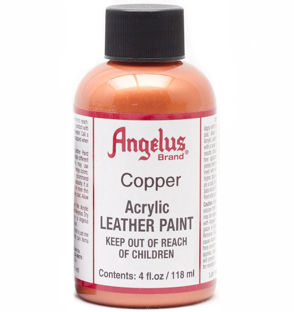 Angelus Leather Paint 4 Oz Copper