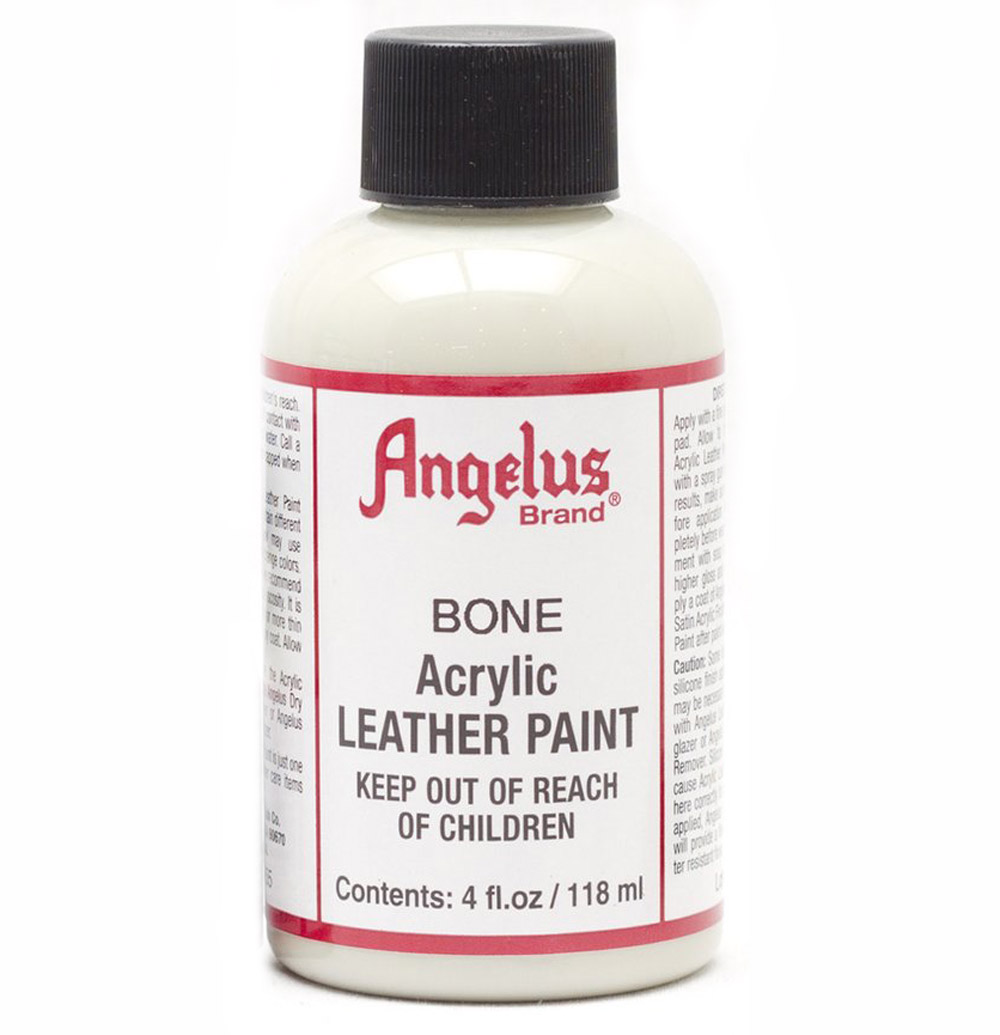 Angelus Leather Paint 4 Oz Bone
