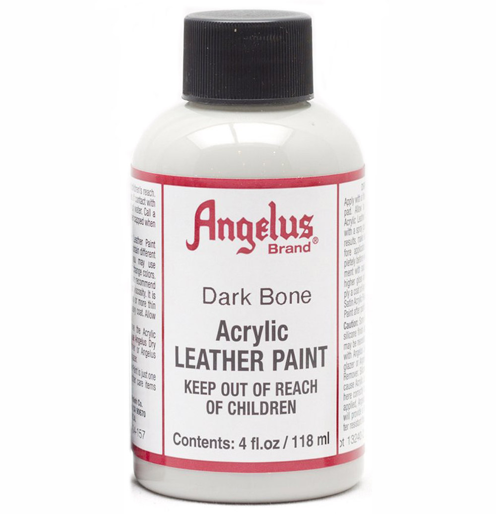 Angelus Leather Paint 4 Oz Dark Bone