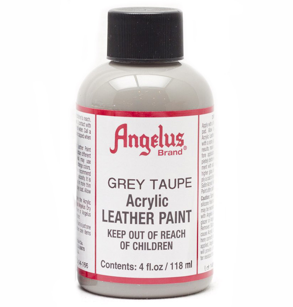 Angelus Leather Paint 4 oz Grey Taupe